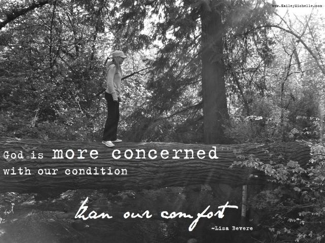 More concerned